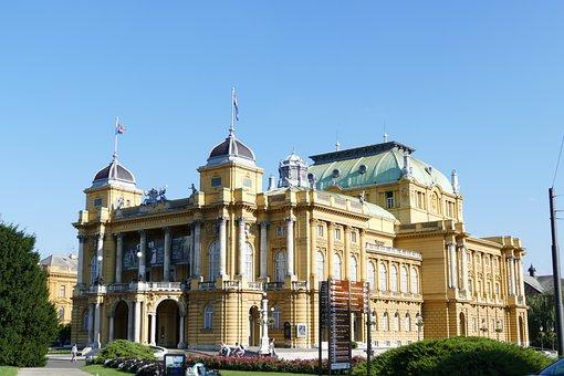 Croatian National Theatre, Theatre, Zagreb, Croatia