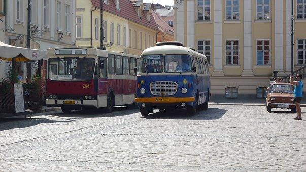 Bydgoszcz, Poland, Bus, Tour, Transport, Monument