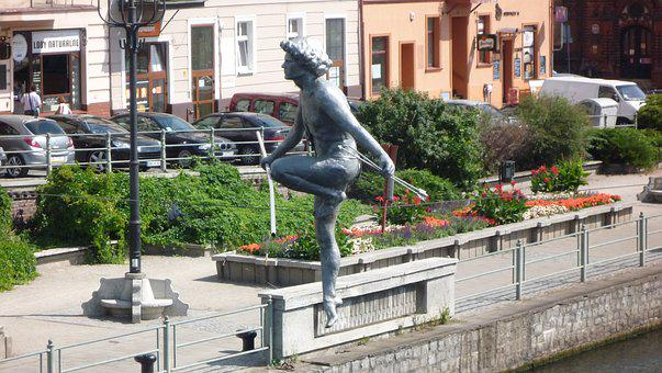 Bydgoszcz, Poland, Brda, Monument, Tourism