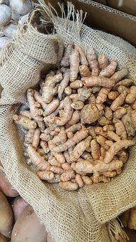 Turmeric, Bulk, Spice, Cuisine, Natural, Healthy