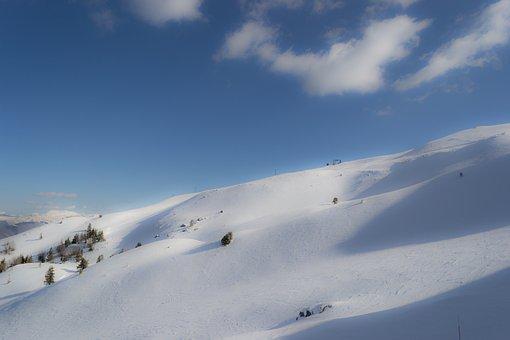 Abetone, Italia, Tuscan, Station Ski, Snow, Landscape