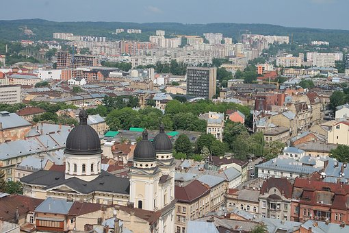 Old Town, Ukraine, Lviv, City Centre, Religion, Church