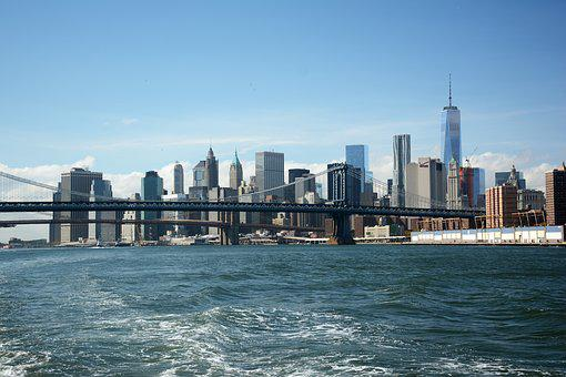New York, Usa, New York City, New York Skyline