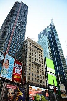New York, Times Square, Usa, New York City, Manhattan