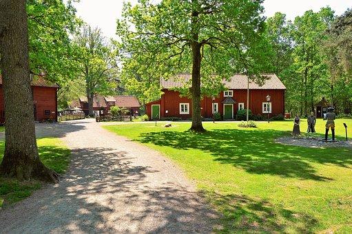 Apladalen, Värnamo, Tree, Sweden, Building, Buildings
