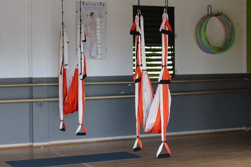 Yoga, Hammock, Relaxation, Zen, Serenity