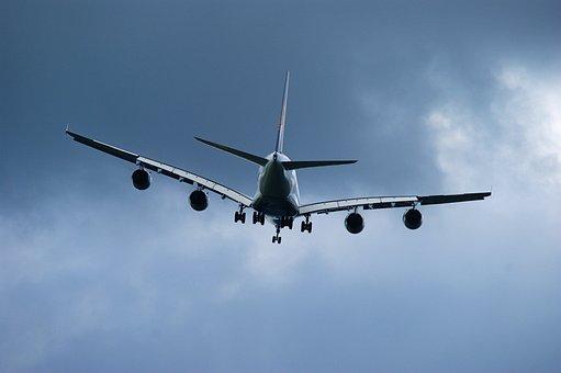 A380, Aircraft, Passenger Aircraft, Flying, Sky