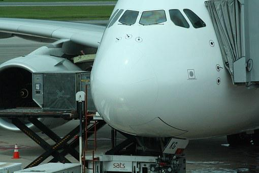 Singapore, Airport, Aircraft, Singapore Airlines, A380