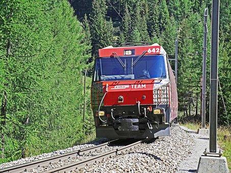 Rhaetian Railways, Albula Track, Meter Track