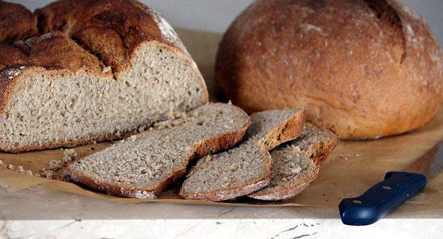 Bread, Baked, Cut, Knife, Baker, Finish, Crispy, Frisch