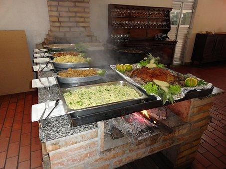 Food, Home, Hunger, Restaurant, Pig, Firewood, Buffet