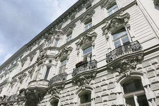 Vienna, Architecture, Art Nouveau, Building, Old Town