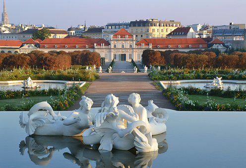 Belvedere, Castle, Baroque, Vienna, Lower Belvedere
