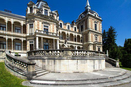 Vienna, Castle, Hermes Villa, Architecture, Sissi