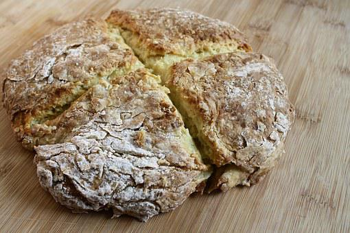 Bread, Irish Soda Bread, Loaf, Crusty, Patrick's