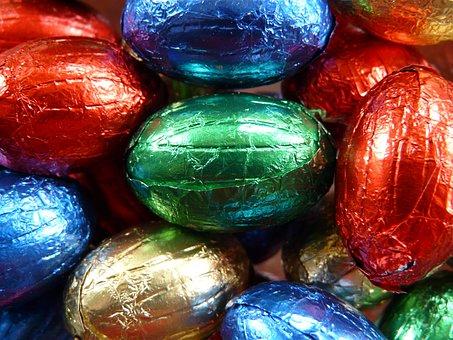 Easter Eggs, Easter, Sweetness, Nibble, Chocolate