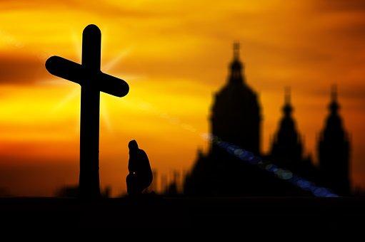 Faith, Pray, Prayer, Cross, Architecture, Beautiful