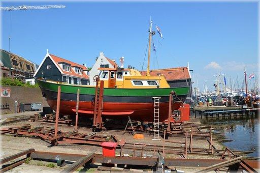 Holland, Netherlands, Urk, Fish, Fishermen, Culture