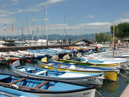 Italy, Bardolino, Garda, Holiday