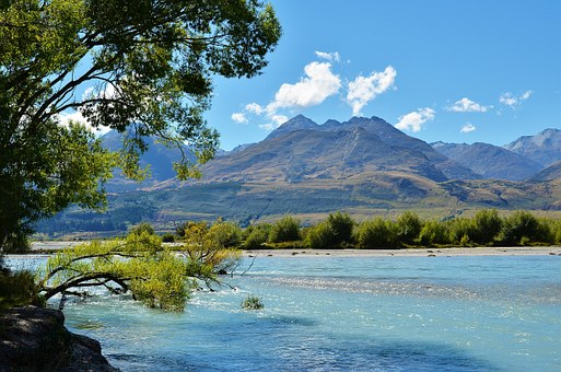 Lake Wakatipu, Gé Lín Nuò Qí, New Zealand, Lake