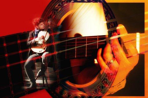 Guitar, Guitar Player, Hand, Handle, Guitar Grip