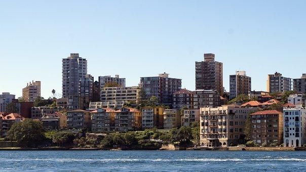 Sydney, Buildings, Harbor, Australia, Architecture