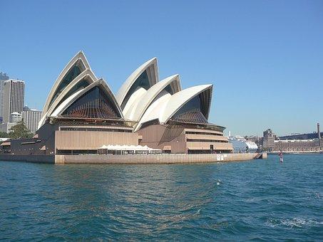 Sydney, Harbour, Opera, House, Harbor, Architecture