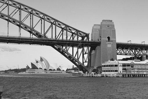Australia, Sydney, Harbour Bridge, Harbour, Bridge