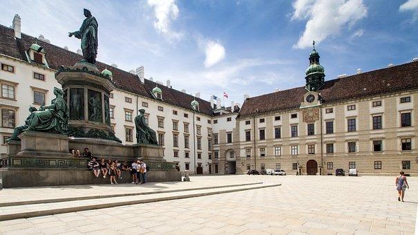 Vienna, Hofburg Imperial Palace, Architecture, Castle