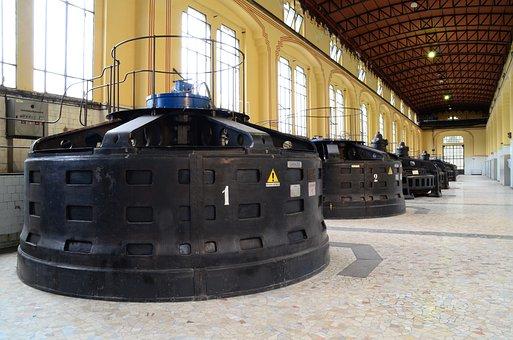 Alternator, Turbine, Hydroelectric, Taccani