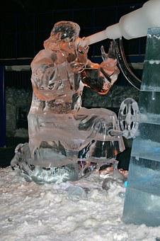 Ice Age, Ice Figures, Art, Erdbeerhof, Exhibition, Cold