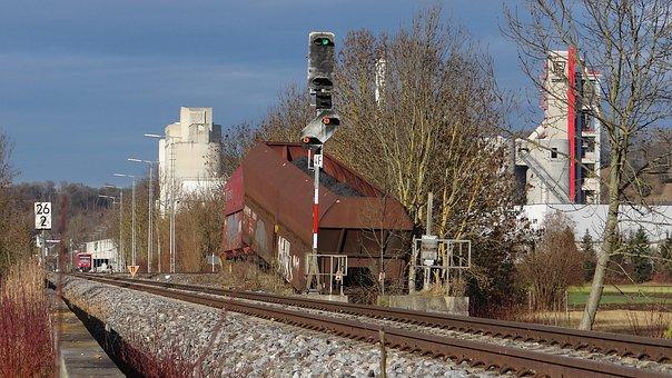 Railroad Mishap, Buffer Stop, Kohlezug