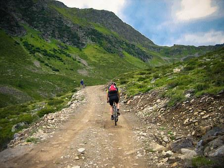 Mtb, Mountain Bike, Alpine, Transalp, Mountains
