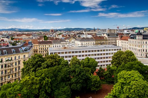 Vienna, Panorama, Downtown, View, Capital, Outlook