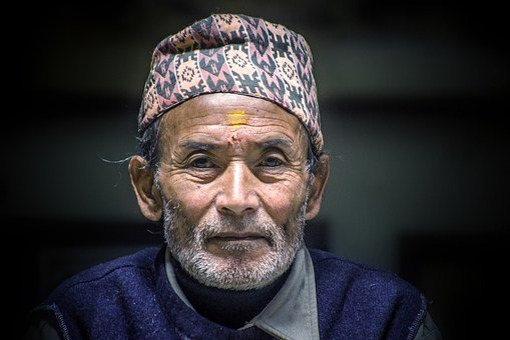 Natural, Light, Old, Cool, Grandpa, Vendor, Patan
