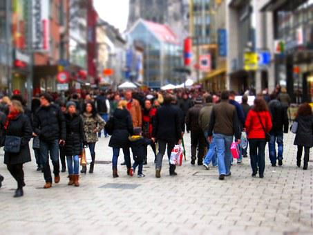 Shopping, Shopping Street, Fray, Pedestrian Zone