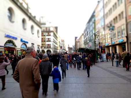 Shopping Street, Fray, Shopping, People