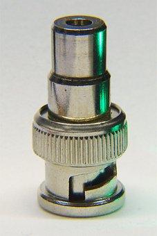Adapter, Chich-bnc, Electronics, Plug, Metal