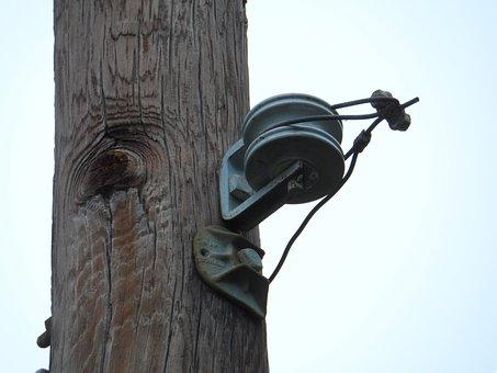 Telephone, Pole, Wire, Telephone Poles, Poles