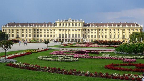 Schönbrunn Palace, Schlossgarten, Vienna, Park