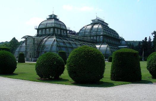 Vienna, Austria, Schönbrunn, Architecture, Palm House