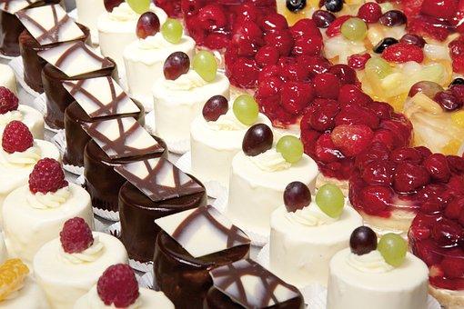 Tart, Cake, Cakes, Small, Four, Bake, Pastries