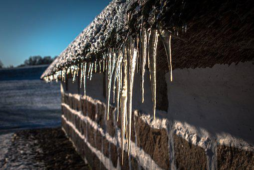 Icicles, Winter, Snow, Frost, Frozen, Ice, Nature