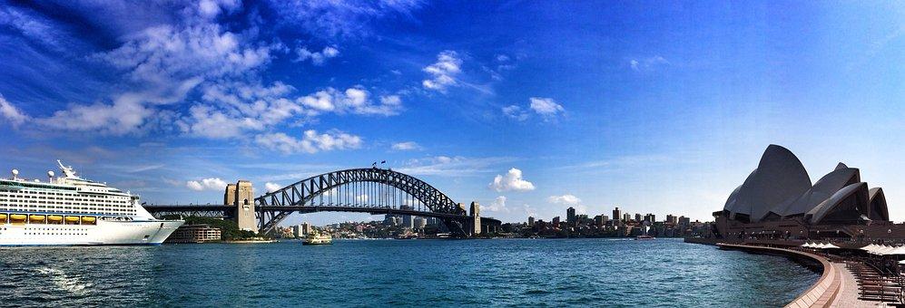 Sydney, Port, Cruise Ship, Sydney Harbour