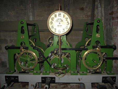 Clock, Movement, Clock Tower, Timepiece, Technology