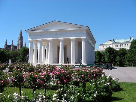 Vienna, Theseus Temple, Places Of Interest, Summer