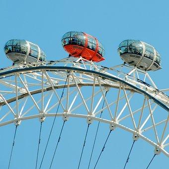 United Kingdom, England, London, London Eye, Tourism