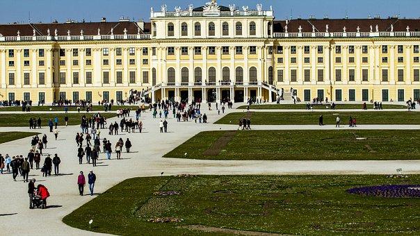 Vienna, Schönbrunn, Castle, Austria, Castle Park, View