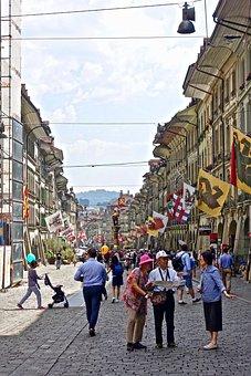 Street, Tourist, Urban, Busy, Architecture, Town