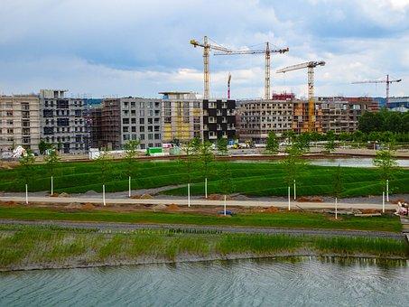 Site, House, Construction Work, Building, Housebuilding